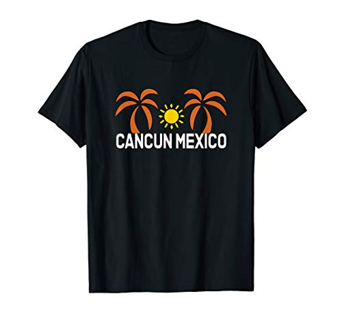 Cancun Mexico Tropical Vacation Souvenir Summer Vacay T-Shirt