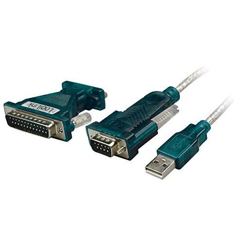 LogiLink UA0042A USB Adapter USB 2.0 zu Seriell Adapter grün