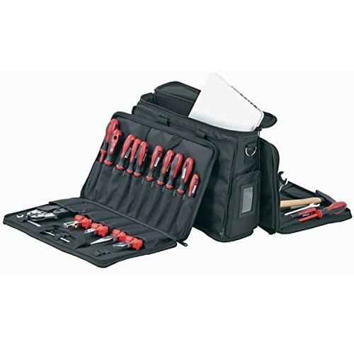 Hepco&Becker 00 5852 8019 0058528019 ORIGINAL Werkzeugtasche Laptoptasche Kombitasche groß Polytex Gewebe Schwarz mit Tragegriff und Tragegurt