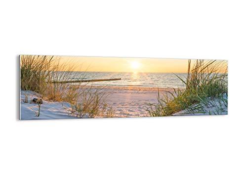 Bild auf Glas - Glasbilder - Einteilig - Breite: 160cm, Höhe: 50cm - Bildnummer 3989 - zum Aufhängen bereit - Bilder - Kunstdruck - GAB160x50-3989