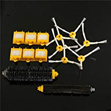 DORLIONA 14pcs Vacuum Cleaner Accessories Kit Filters and Brushes for iRobot Roomba 700 Series