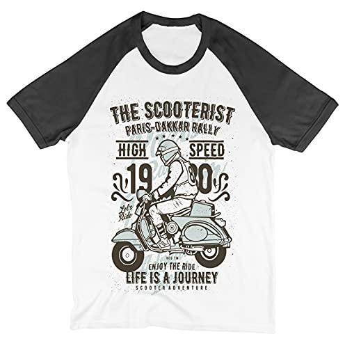 6TN The Scooterist - Camiseta de béisbol