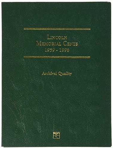 Littleton 1959-1998 Lincoln Memorial Cent Folder