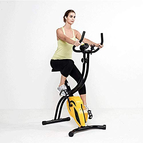 Best Prices! XIAOXIAO Fitness Folding Exercise Bike, Fitness Club, Commercial Gym, Fan Bicycle, Elli...