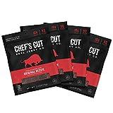 Chef's Cut Real Steak Original Recipe Jerky, 2.5 Ounce (4 Pack)