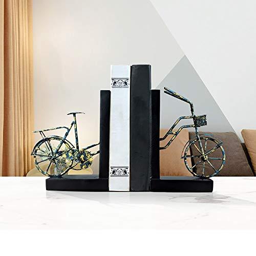 ZHQHYQHHX Hauptdekorationen Bookend Dekoration Wohnaccessoires Creative Book by Wohnzimmer Study TV Schrank Desktop-Buch-Standplatz Kleine Möbel Ornament (Color : Multi-Colored)