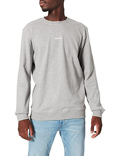 BOSS Weevo 1 Sudadera, Light/Pastel Grey51, S para Hombre