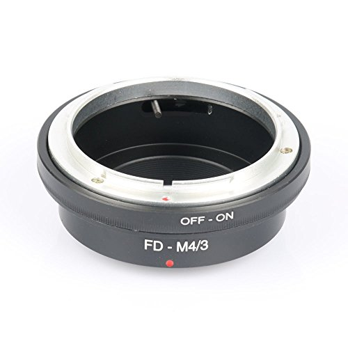 SSSabsir High Precision FD-M4/3 Metal Mount Lens Adapter Ring Manual for Canon FD to M4/3