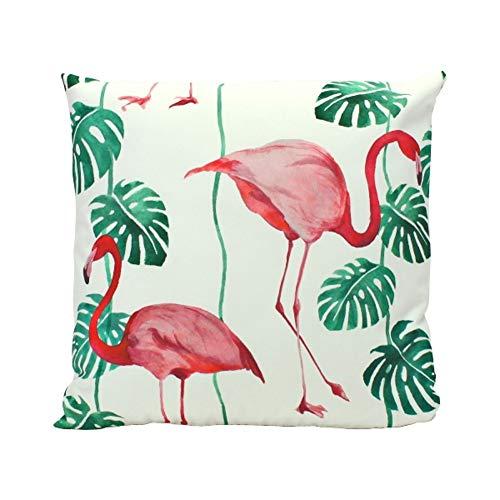 Outdoor kussen ~ Flamingo ~ decoratief kussen sierkussen geschikt voor buiten huis tuin