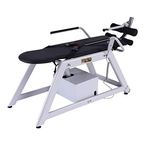 GTD-RISE T-Tabla de Inversión,Inversion Table, Máquina eléctrica Invertida, Tratamiento eficaz, Plato herniado, Dolor de Espalda, Reversible, úselo por la mañana, Puede Mantenerse Despierto - Negro