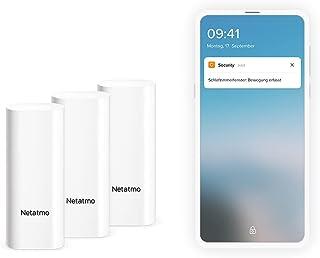 Netatmo Wireless Smart Door and Window Sensors - 3 Pack - Vibration Detection - DTG-DE