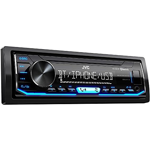 JVC KD-X351BT - Ricevitore multimediale digitale, Bluetooth/USB, wireless e ingresso USB / AUX frontale, Nero
