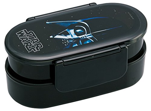 Skater (SKATER) Tight Caja de Almuerzo con Palillos 670ml de 2Star Wars Darth Vader