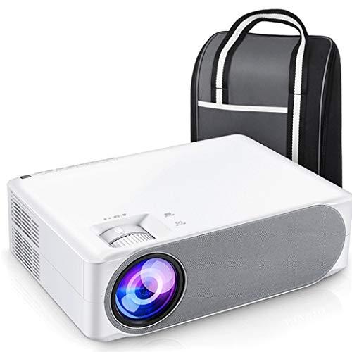 YLHXYPP Proyector Full HD de 630/630 W, Pantalla de sincronización WiFi de Cine en casa portátil 1080P de pequeña Oficina en casa (Color : Ordinary Paragraph)