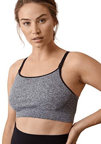 Boob Damen Verstellbarer Still-Schwangerschafts-BH für Sanften Sportarten aus nachhaltigen Fasern mit Einfachem Stillzugang (XL)