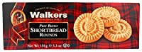 Walkers ピュアバターショートブレッド、ラウンド、5.3オンス