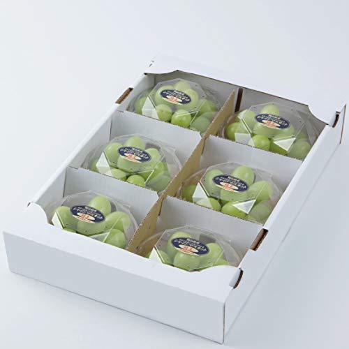 ぶどう シャインマスカット 晴王 200g×6パック 計1.2kg 岡山県産 JAおかやま 葡萄 ブドウ