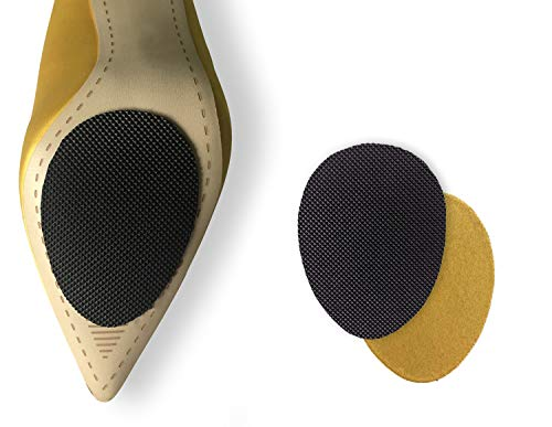 Non-Slip Shoes Pads 5 Pairs Self-Adhesive  Shoe Gripsrubber Anti-Slip Shoe Gripscan Non-Slip Noise Reduction