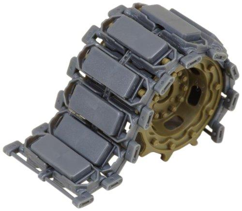ラウペンモデル 1/35 陸上自衛隊10式戦車用連結可動式キャタピラ生産第2ロット C2 ゴムパッドつき