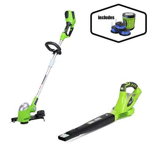 Fantastic Deal! Greenworks 40V 150 MPH Variable Speed Cordless Blower, Battery Not Included with 40V...