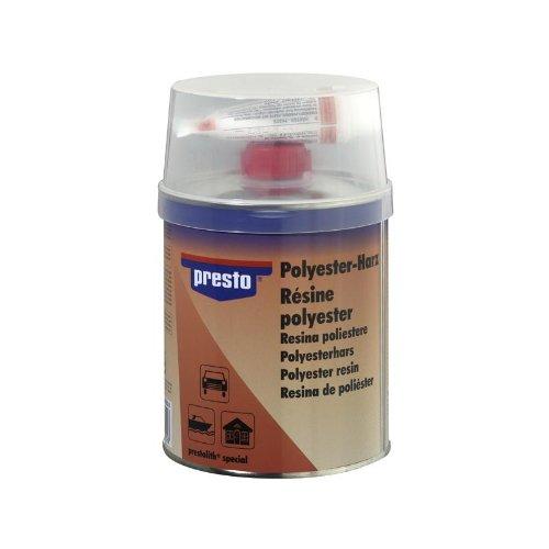 Presto POLYESTERHARZ ELASTISSCH Metall Holz Beton 5000 g + HÄRTER 600818