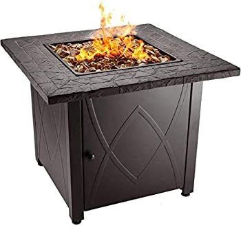 Blue Rhino Outdoor Propane Gas Fire Pit: photo