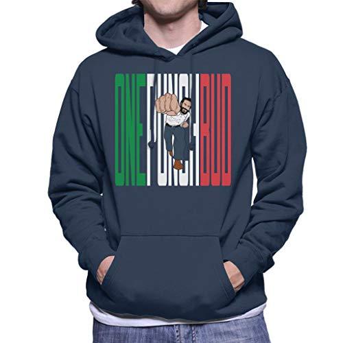 Cloud City 7 One Punch Man Bud Spencer Men\'s Hooded Sweatshirt