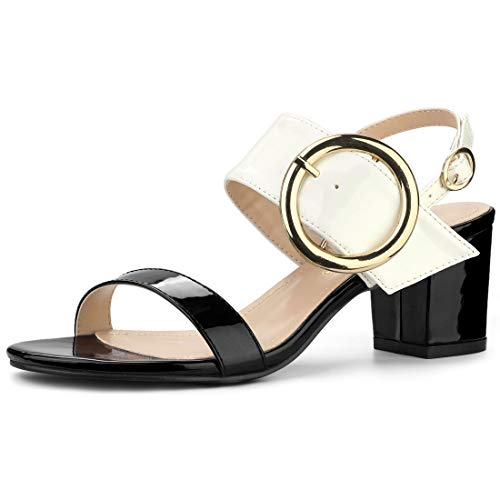 Top 10 best selling list for black and white color block shoes