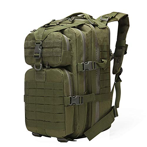 TnXan Military Tactical Assault Pack Backpack Army Foldable Fackpack Hiking Backpack Waterproof Bug Out Bag Small Rucksack for Outdoor Hiking Camping Hunting 40L
