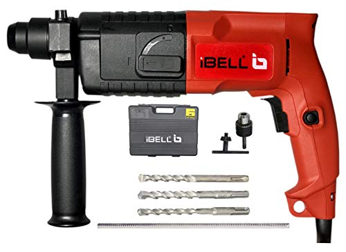 IBELL Rotary Hammer Drill Machine RH20-23, SDS Chuck,500W,850RPM,20MM with Accessories and 6 Months Warranty