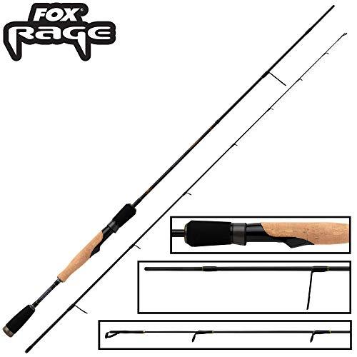 Fox Rage Terminator Ultralight Spin 1,80m 2-8g - Spinnrute zum Spinnfischen auf Barsche & Forellen, Ultra Light Rute, Barschrute