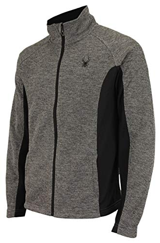 Spyder Men Constant Full Zip Sweater Polar Marble Size XL