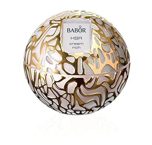 BABOR HSR Extra Firming Cream, Anti-Falten Creme für Gesicht, Hals & Dekolleté, Pflege, gegen Mimik- und Gravitationsfalten, 50 ml