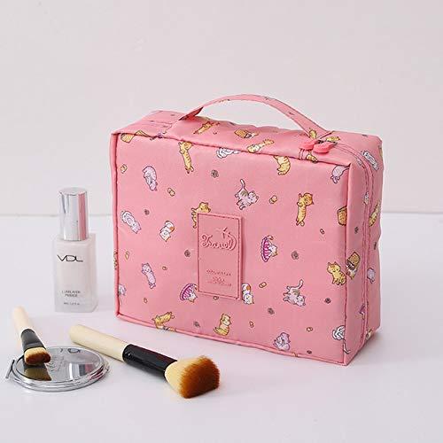 YIBING Voyage Femmes Maquillage Sacs Hommes Femme Cosmétique Sac Portable Stockage Lavage Pack Organisateur, H8