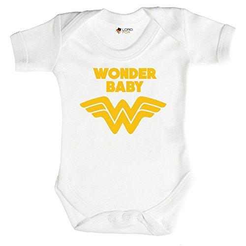 Wonder Baby para mujer–Pelele Onesie de todos los tamaños 0–24meses Unisex Talla:3-6 meses