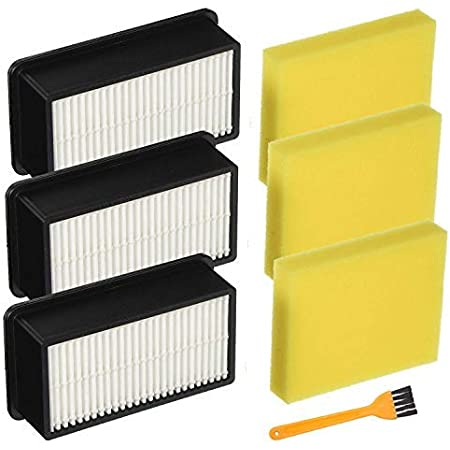 2 Sets For Bissell Style-1008 Filter Pack For CleanView Upright Vacuums