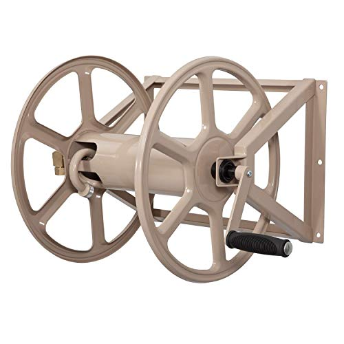 Liberty Garden 709 Steel Wall/Floor Mounted Hose...