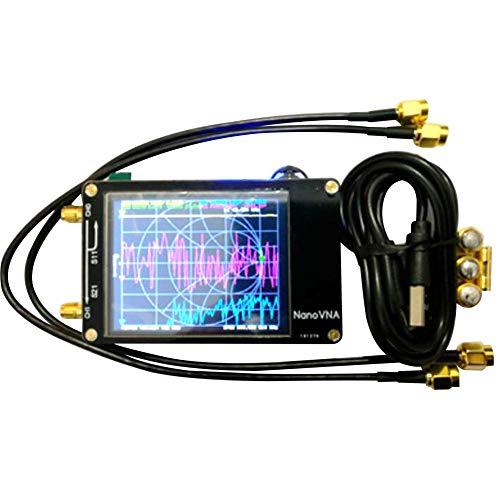 アンテナアナライザー、ベクトルネットワークアナライザー、50KHz-900MHz UHFデジタルディスプレイ、プロフェッショナルVHF MF DIY NanoVNA