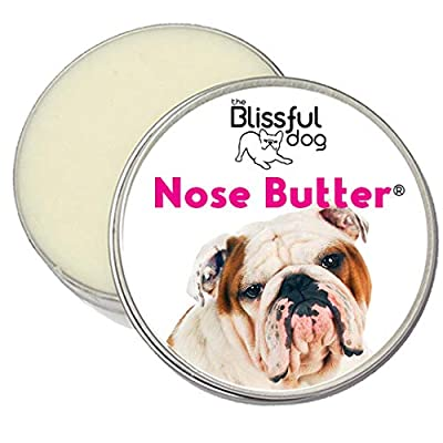 The Blissful Dog Bulldog Nose Butter – Dog Nose Butter, 4 Ounce
