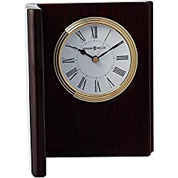 Howard Miller Portrait Book II Table Clock 645-711 – Picture Frame & Timepiece with Quartz Movement