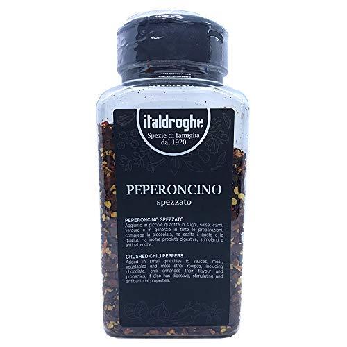ITALDROGHE RED CHILI FLAKES, riche en propriétés bénéfiques: effet antibactérien, riche en vitamine C, propriété antioxydante, condiment utilisé dans les traditions méditerranéenne et orientale