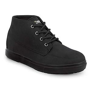SR Max Jackson Black, Men's, Chukka Style Slip Resistant Soft Toe Work Shoe (8.5 M)
