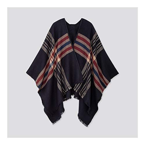 Saus Pan mannen en vrouwen grote sjaals, warme en comfortabele geruite wraps, oversized sjaals, super zachte sjaals, dubbelzijdig gebreide stoffen, creatieve Gi