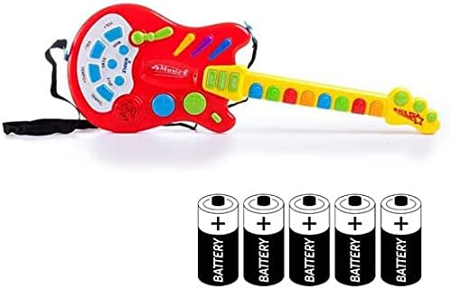 Dimple Kids Handheld trend rank Musical Electronic Attention brand 20 Guitar Over Toy with