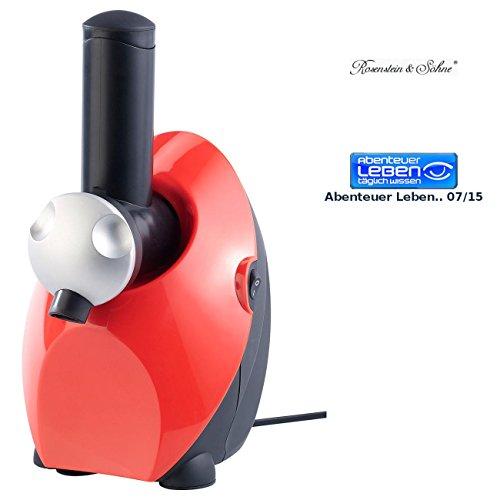 Rosenstein & Söhne Sorbetmaschine: Eismaschine - Fruchteis und Sorbet Maker (Frucht- & Obst Eismaschine)
