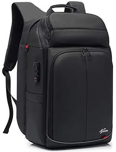 Anti-Diebstahl Laptop Rucksack Herren mit USB Ladeanschluss - 35L/40LBusiness Notebook Rucksack für 15,6-17.3 Zoll Laptop, Reiserucksack Handgepäck Flugzeug für Arbeit Reisen,Schulrucksack Daypack