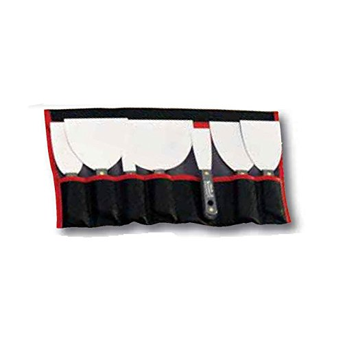L'outil parfait - Kit de 7 spatules ou couteaux a enduire inox -