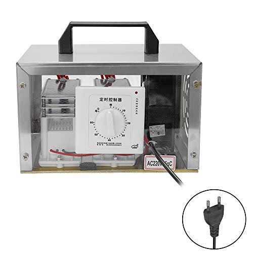 Baugger 35Gc Generador de Ozono de Cerámica Comprimidos Esterilizador de Agua de Placa de Aire Integrado con Interruptor de Sincronización Purificador Ozonizador