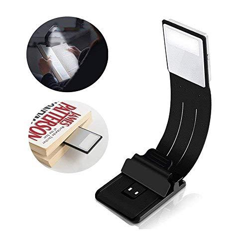 Preisvergleich Produktbild KY&Cl Wiederaufladbares Clip-On-Leselicht / 4-stufig beleuchtetes LED-Buchlicht / Augenpflege / Multifunktions-Lesezeichen-Tischlampe / Nachttischlampe zum Lesen.