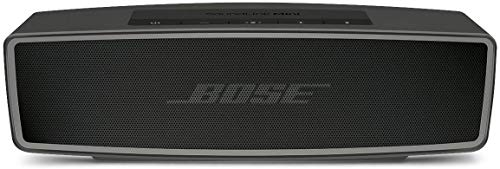 Bose SoundLink Mini II - Altavoz portátil Bluetooth, Color carbón (Importado)